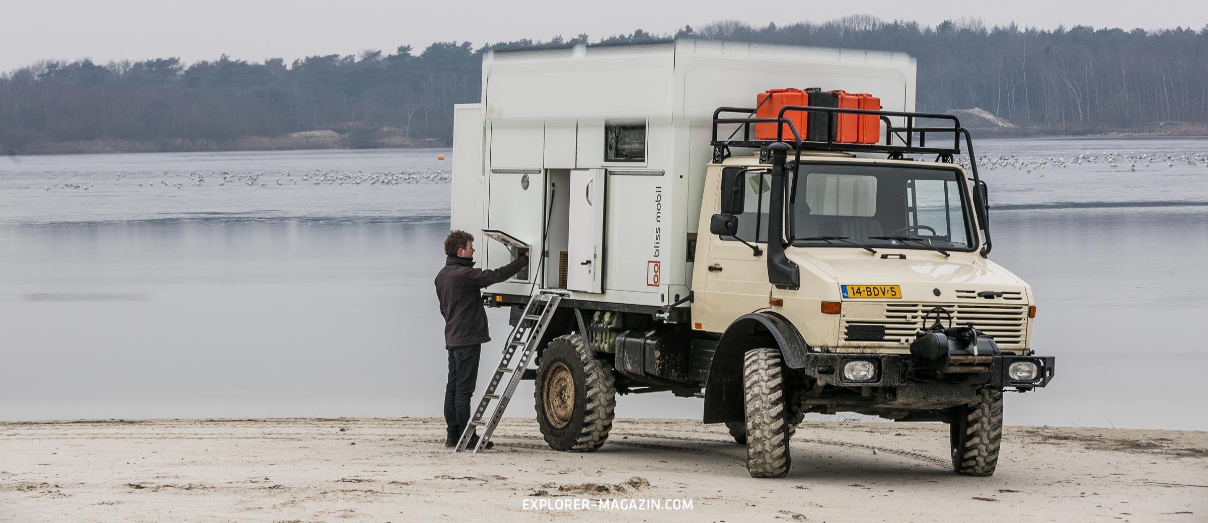 Hubdachkabine Auf Unimog Von Bliss Mobil Der Ausfuhrliche Test Expeditionsfahrzeug Fahrzeuge Wohnmobil