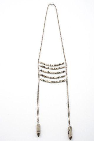 Torchlight Jewelry Pyrite Breatplate