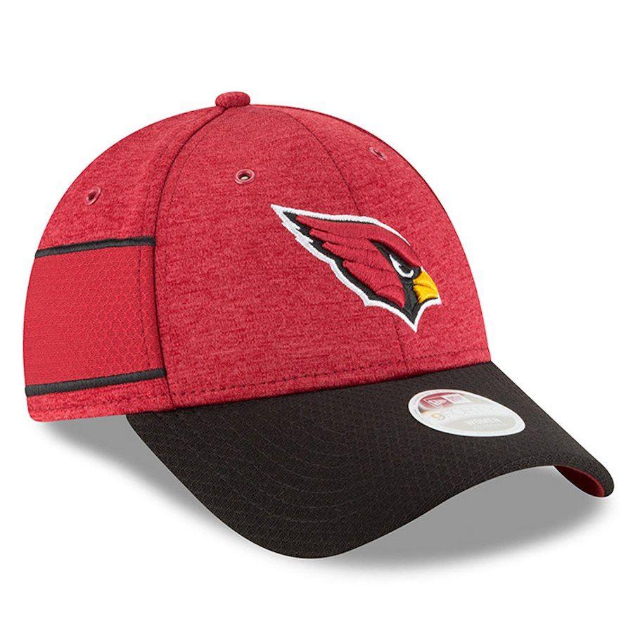 timeless design 48dec e1492 Women s Arizona Cardinals New Era Cardinal Black 2018 NFL Sideline Home  9FORTY Adjustable Hat, Your Price   29.99
