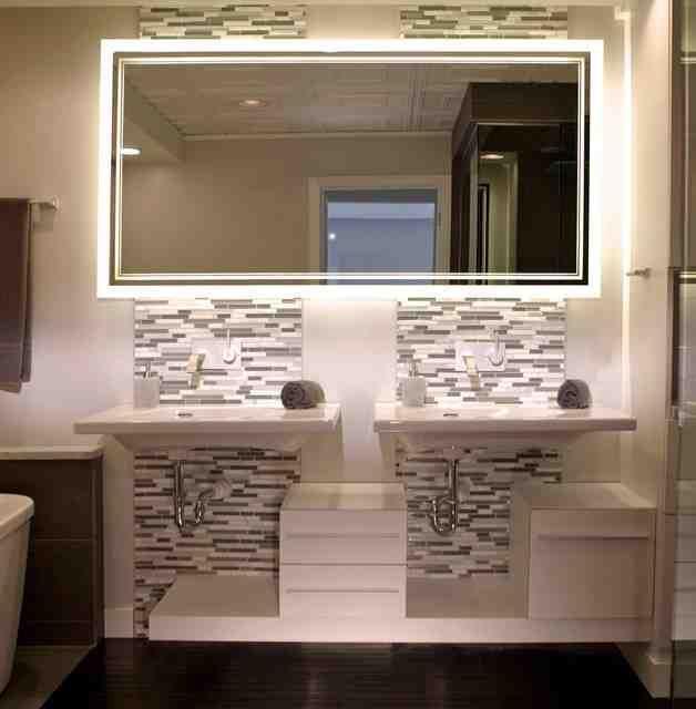 Houzz Bathroom Mirrors Contemporary Bathroom Mirrors Bathroom Mirror Bathrooms Remodel