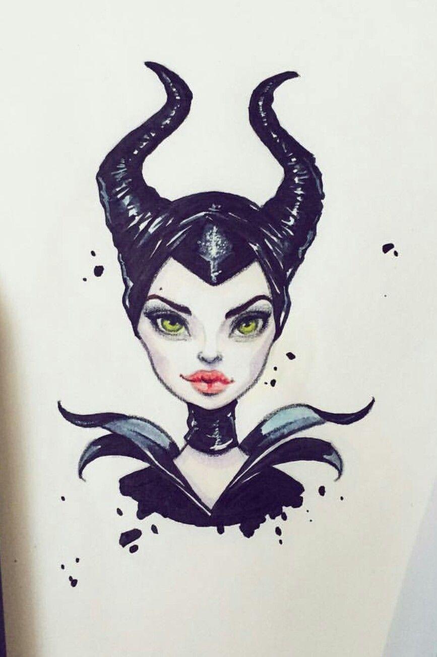 Maleficent By Lera Kiryakova Art Pinterest Malfica