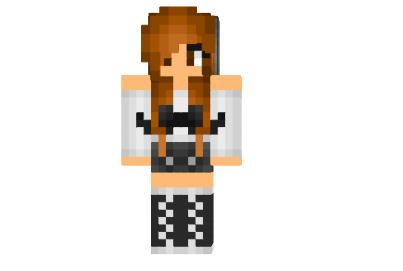 Ways To Install Cute Brunette Hipster Original Skin Minecraft - Minecraft schone holzhauser