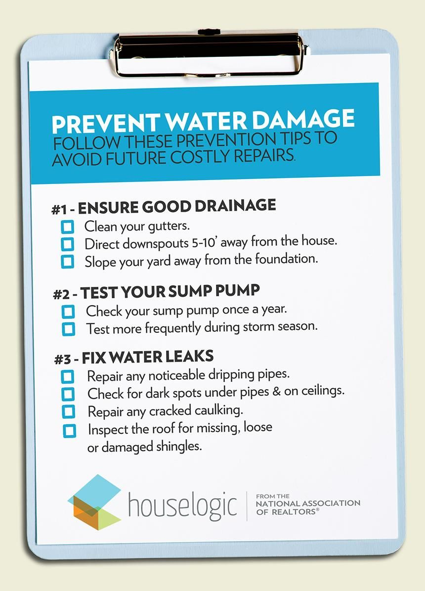 Preventing Water Damage Is A Whole Lot Cheaper Than Paying For Repairs Here Are Three Easy Prevention Tips With Images Water Damage Cleaning Gutters Foundation Repair