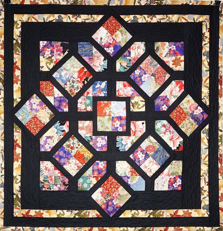 Four Patch fun quilt pattern at Annie's Quilting Den | Asian Quilt ... : annies quilting - Adamdwight.com