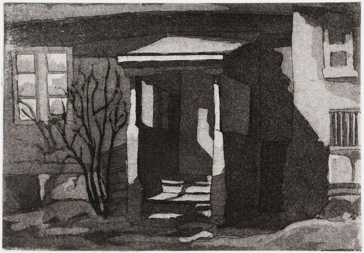 Pietilä, Tuulikki Portaat, Luostarinmäki 1935