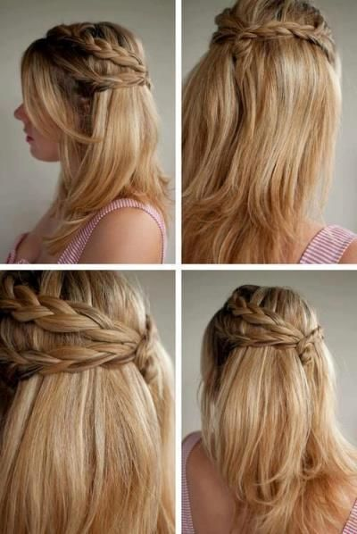 Cute And Easy Hairstyles 45 quick and easy back to school hairstyles for 2016 How To Do Simple And Cute Hairstyles
