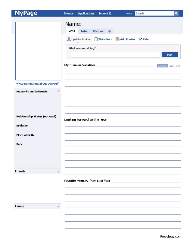 simply special education facebook worksheet  begining of the year  simply special education facebook worksheet first day of school  activities new classroom classroom