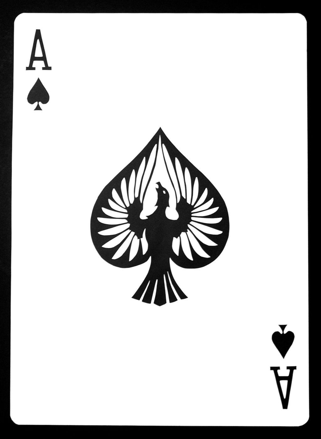 20 Playing Card Ace Spades Drawing Pictures And Ideas On Carver Museum