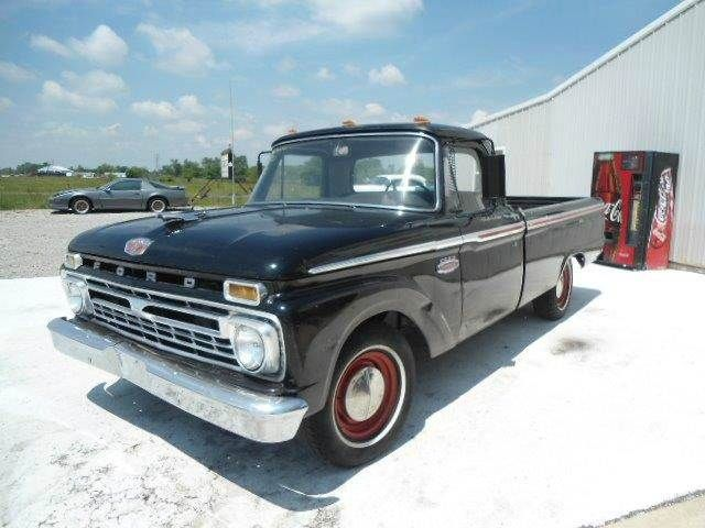 1966 Ford F 100 Found On Carsforsale Com Ford Trucks Ford Fire Trucks