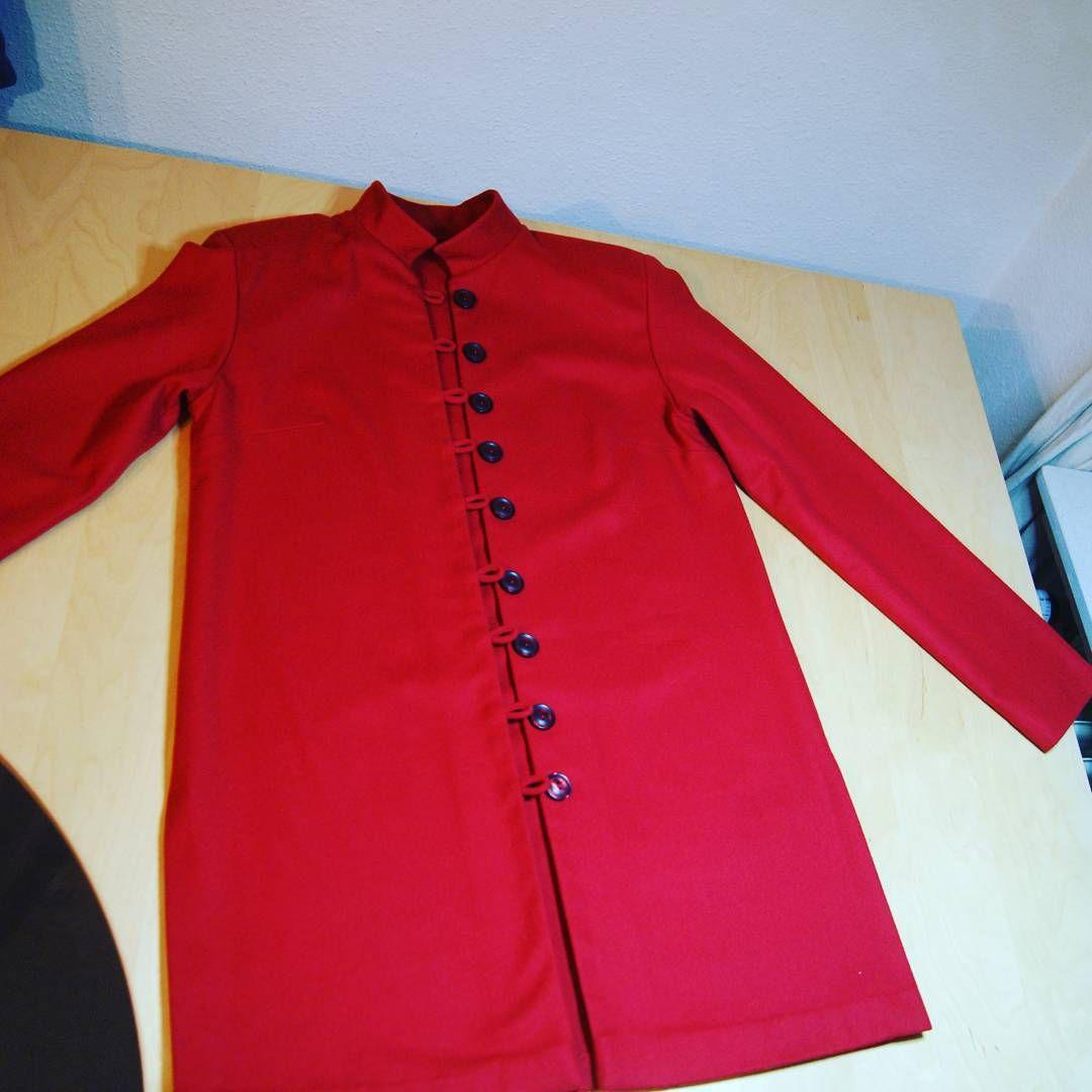 Eine Jacke für meine Mutter - die Arbeit von heute! Mehr davon auf meinem Blog #jacket  #jacke #handmade #handarbeit #nähen #sewing