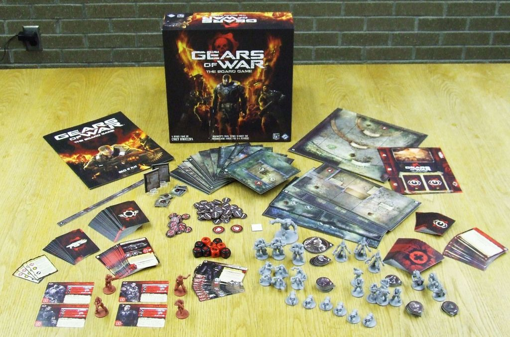 Gears Of War The Board Game Image Boardgamegeek Board Games