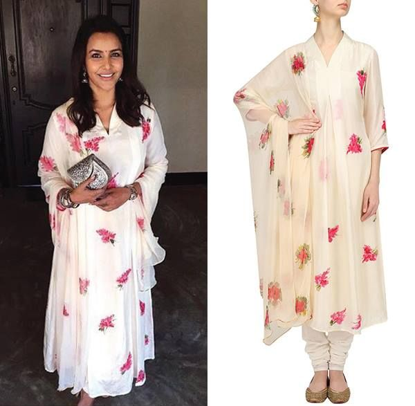 Priya Waj Anand is looking ethereal in this easy breezy collection by Picchika #celebspotting #celebstyle #india #perniaspopupshop #picchika #indiandesigner #indianfashion #happyshopping #shopnow