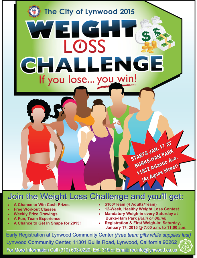 weight loss challenge flyer wanna lose weight the good and healthy