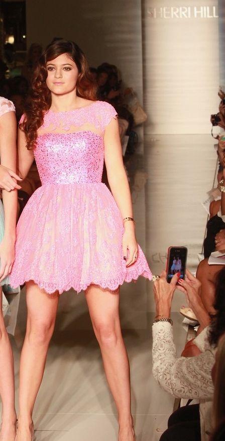 Kylie Jenner in Sherri Hill 2957 | Sherri Hill Prom | Pinterest