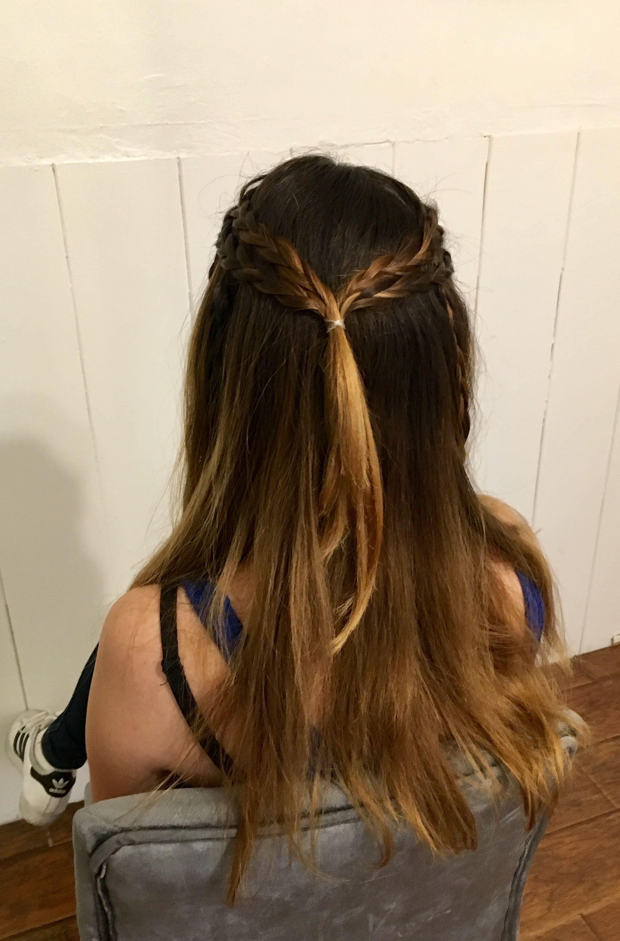 School Hair Style For Medium Length   Simple Easy Hair ...