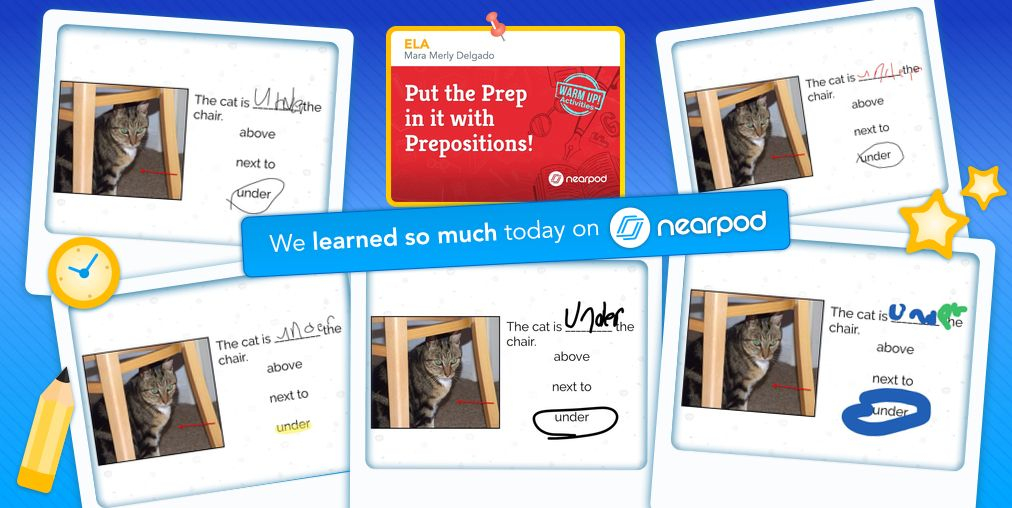 Students Using Nearpod