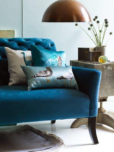 Best Serenity Now Shabby Chic Sofa Peacock Decor Peacock 400 x 300