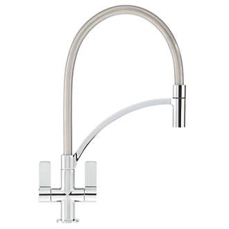 Order Online At Screwfixmodern Pullout Nozzle Tap With Enchanting Kitchen Taps Inspiration