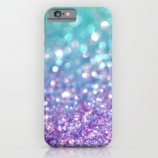 Girly Pink Snowfall iPhone 6 case by Lisa Argyropoulos Cubiertas