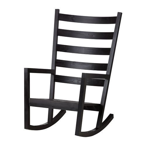 Ikea Rocking Chair Outdoor Stackable Covers Australia Mobler Og Interior Til Hele Hjemmet Uterum Varmdo In Black Brown Stained