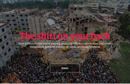 One year anniversary of rana plaza collapse a great web docu and