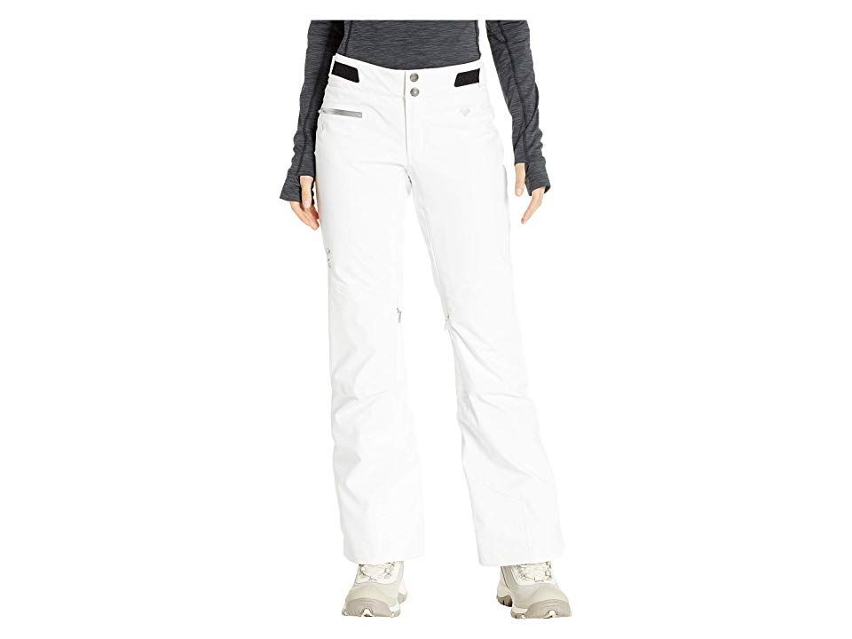 Obermeyer Straight Line Pants White Womens Casual Pants A pair of hightech comfortable ski pants that are perfect for carving fresh powder and exploring the backcountry t...