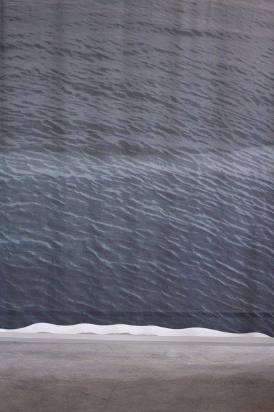 studio 51°6° - schiemanswerk scarf sea print