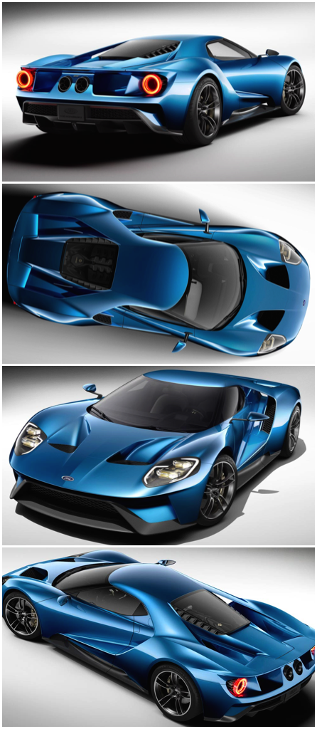 Its All Hotting Up At Ford All New Ford Gt Carbon Fibre Supercar Just Back