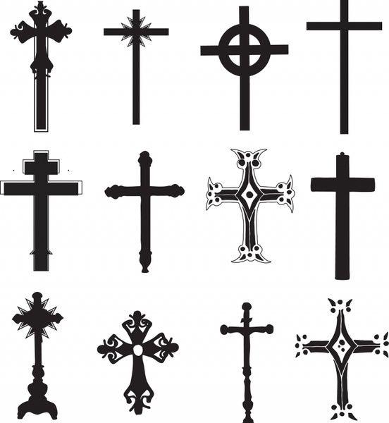 Cross Religious Symbol Christian Religion Tatto Pinterest