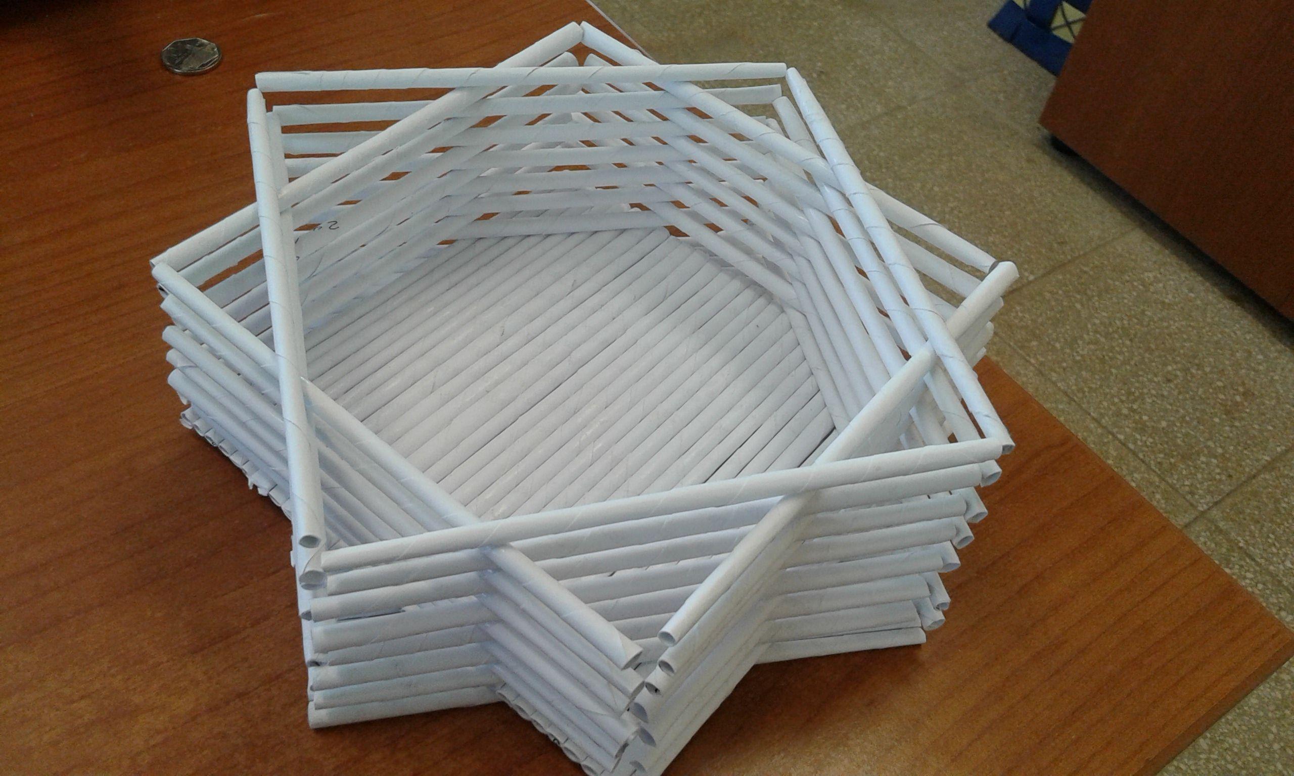 Used A4 paper sheet   Newspaper craft DIY   Pinterest   Newspaper ...