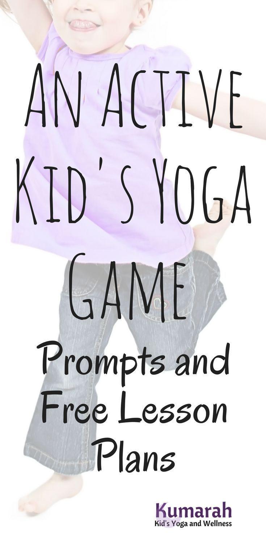 Yogi Says An Easy And Active Yoga Game For Kids