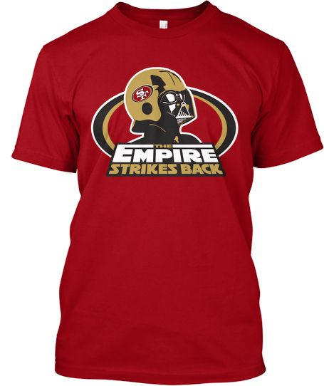 c18a3dd83 The Empire Strikes Back - San Francisco 49ers T-shirt