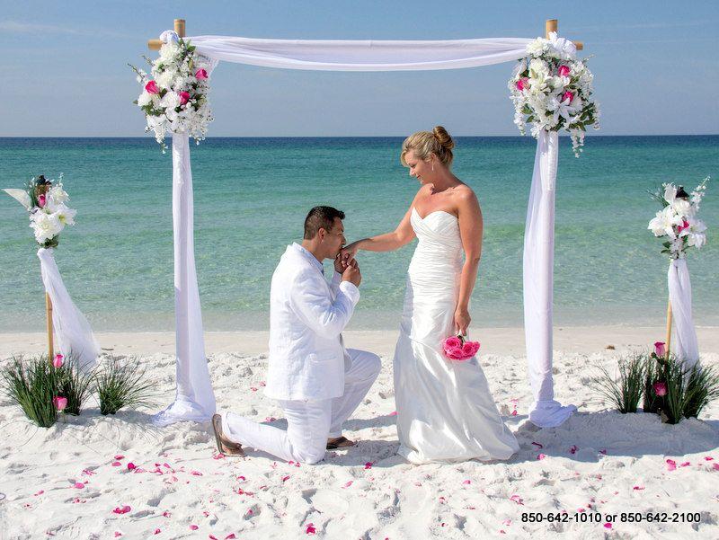Destin Florida Beach Wedding Packages Weddings Pensacola Panama City