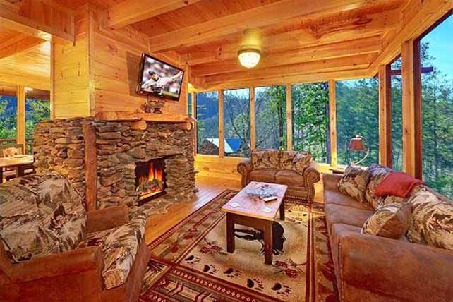 cabins ideas for the house pinterest fall pictures cabin and rh pinterest com smoky mountain cottages pigeon forge smoky mountain lodging
