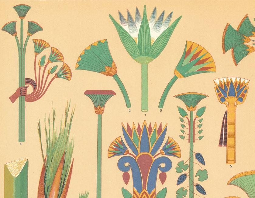 Орнаменте древнего египта картинки