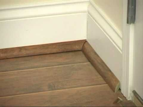 How To Install Quarter Round Moldings And Trim Laminate Trim Baseboards