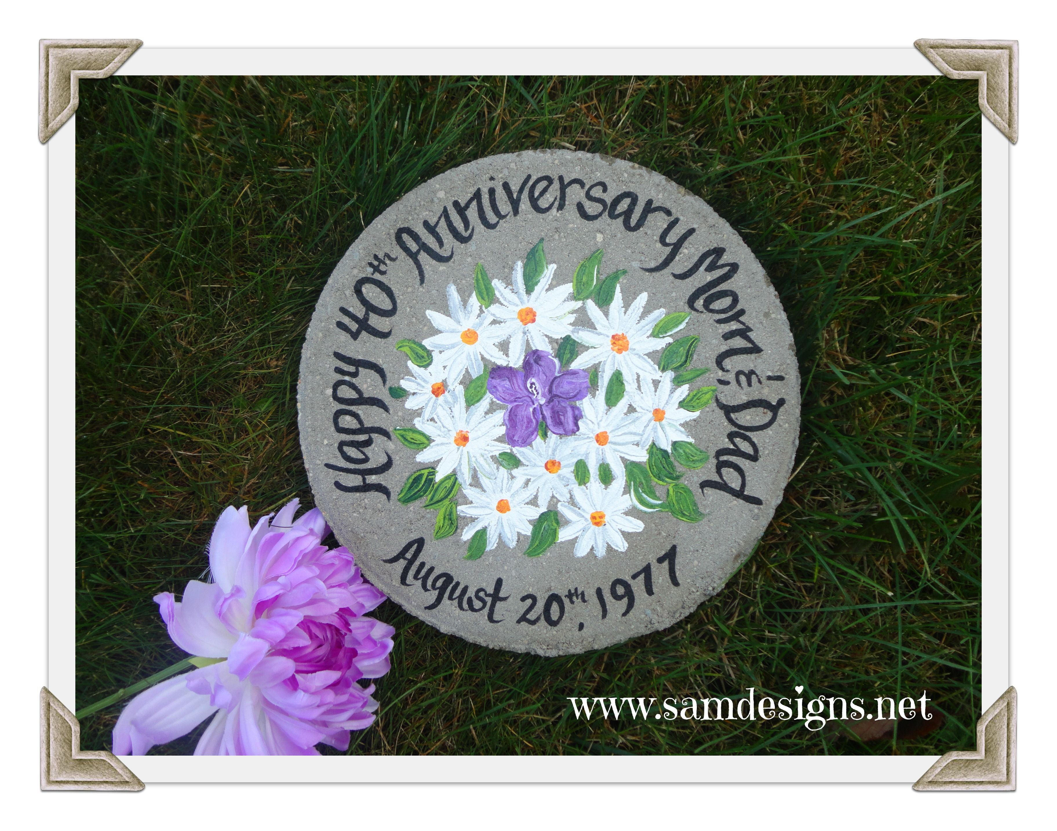 This beautiful stepping stone will make the perfect and unique gift this beautiful stepping stone will make the perfect and unique gift for the mother of the bride groom or parents of the groom izmirmasajfo