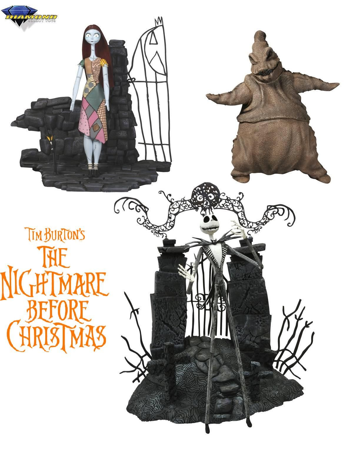 Diamond Select Toys The Nightmare Before Christmas Figure Set in ...