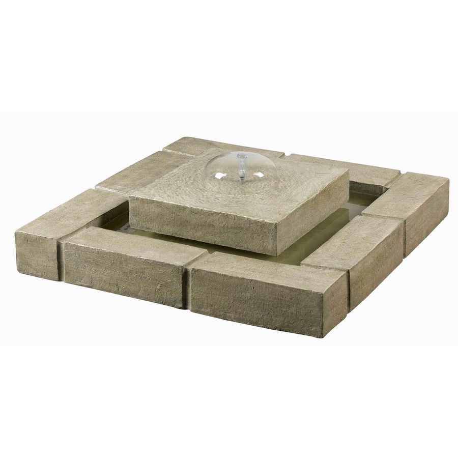 Shop Kenroy Home Belgian Block Fountain at Lowes.com $304 | Gardens ...