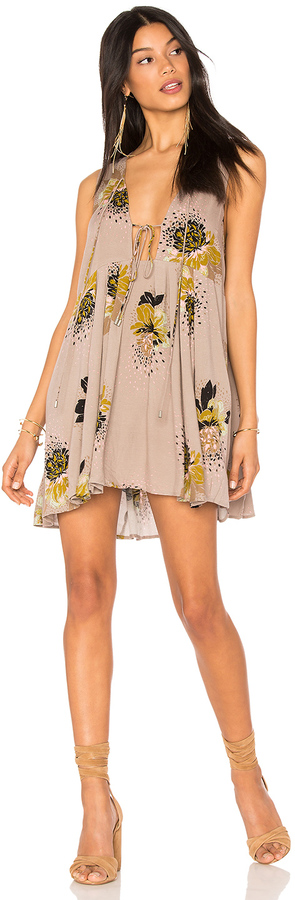 Free People Lovely Day Printed Tunic
