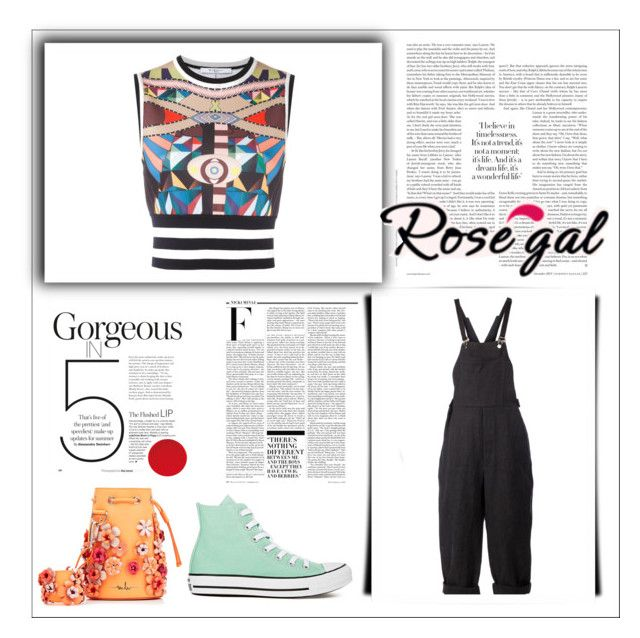 """""""The CC Outfit!"""" by stella-black ❤ liked on Polyvore featuring Givenchy, Aganovich, Converse, Marina Hoermanseder and Nicki Minaj"""