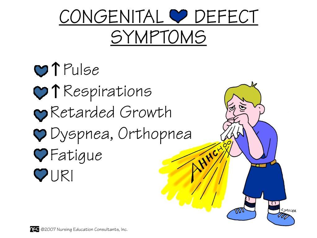 Congenital Heart Defect Symptoms | Medicine | Pinterest