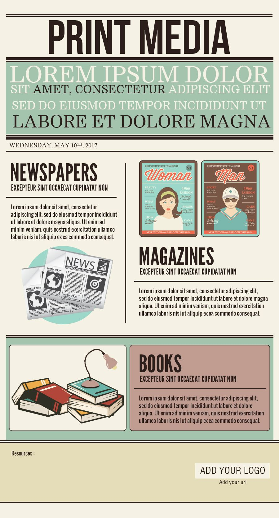 Print media psd template infographic template free print media psd template infographic template pronofoot35fo Choice Image