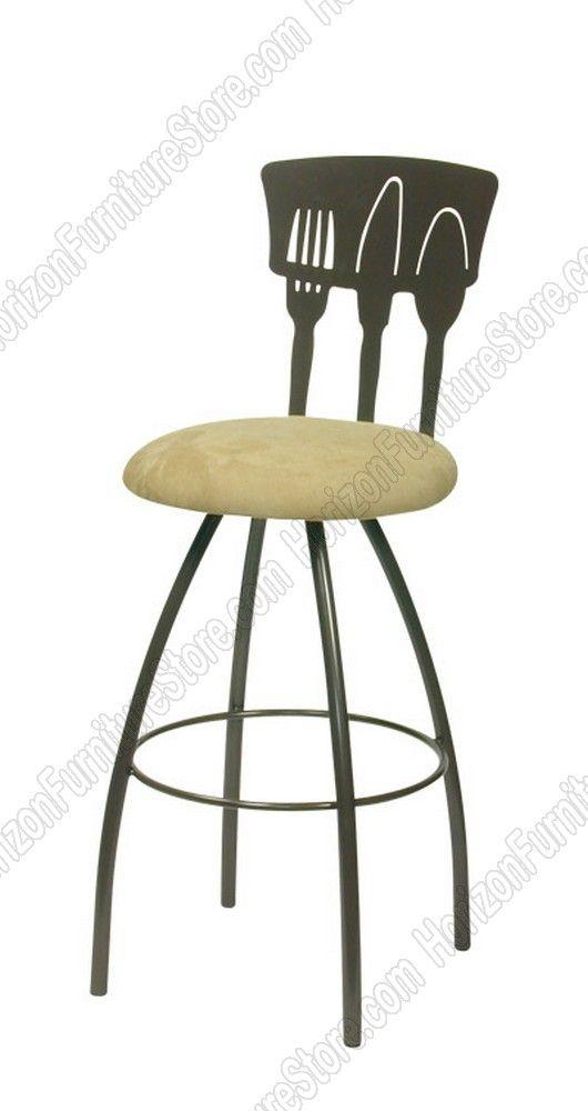 Trica Cutlery Swivel Bar Stool 228 00 Swivel Bar Stools Bar