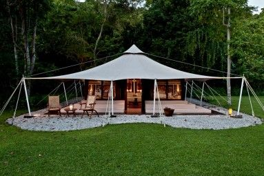 Luxury ocean tent accommodation at Amanwana Indonesia & Luxury ocean tent accommodation at Amanwana Indonesia | TENDE ...