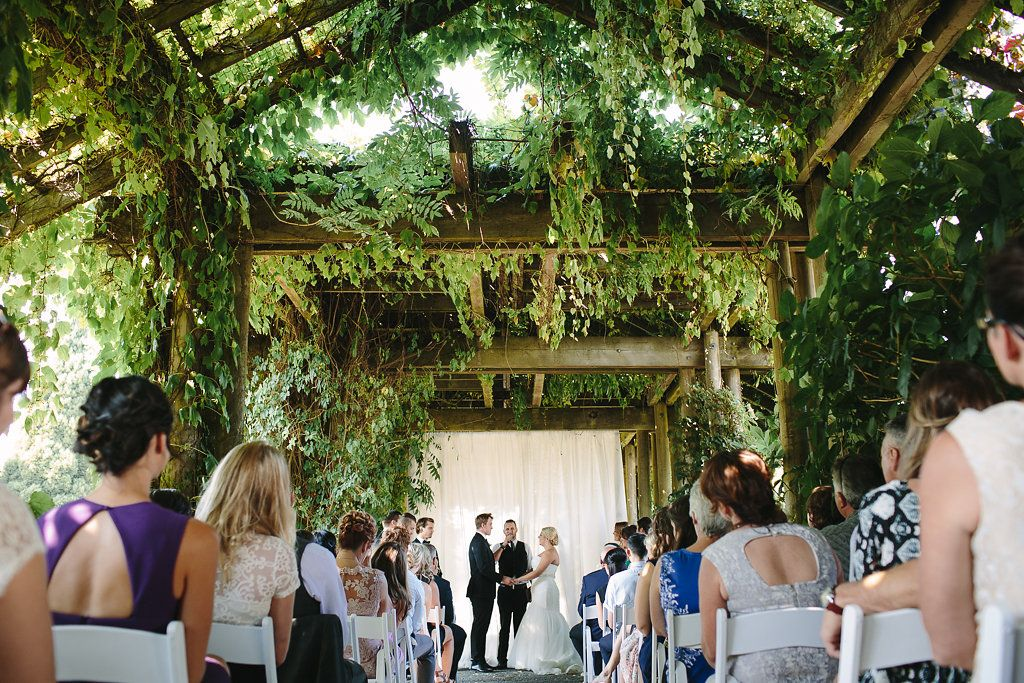 Botanic park wedding