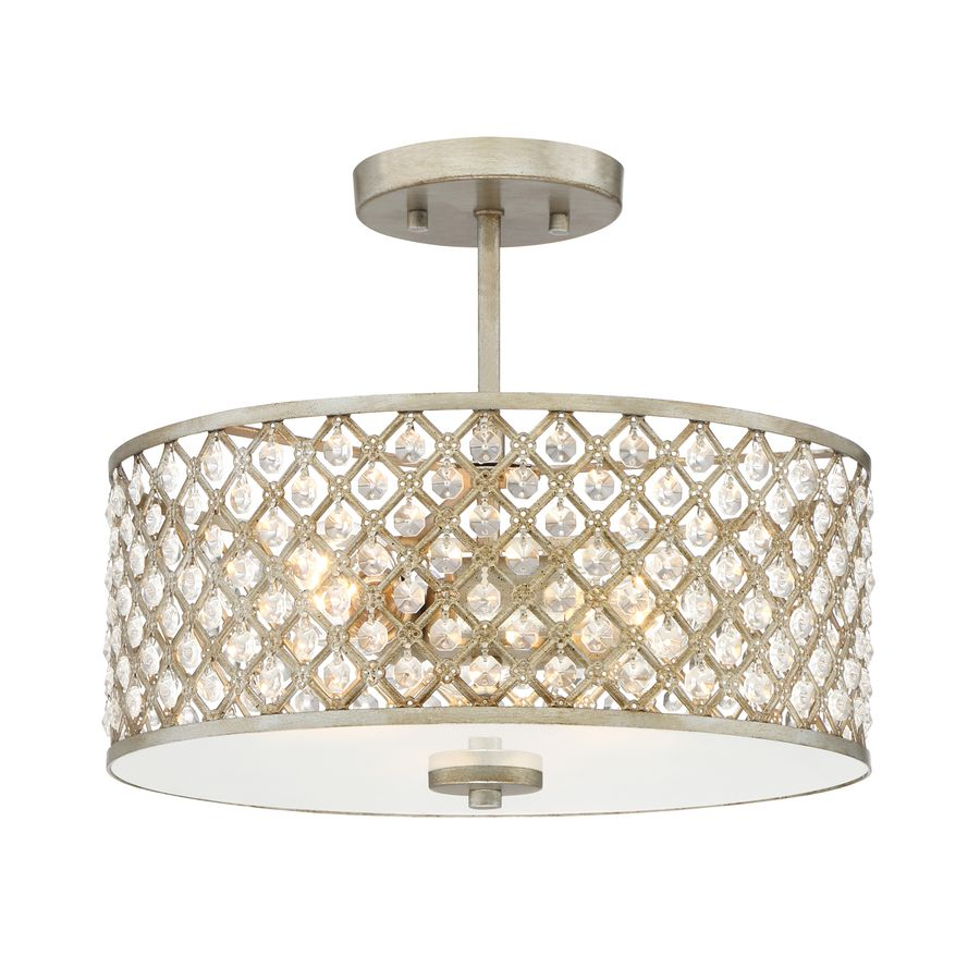 Quoizel Juliana 14 25 In Gold Casual Transitional Semi Flush Mount Light Lowes Com Bedroom Light Fixtures Flush Mount Lighting Semi Flush Mount Lighting
