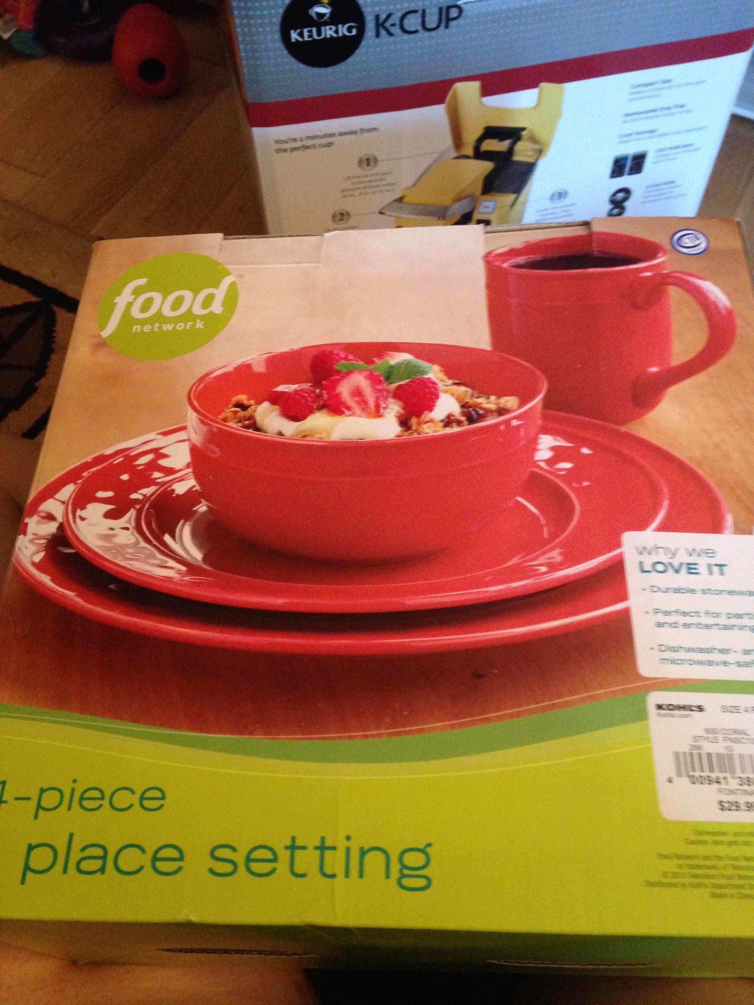 food network dishes kohls