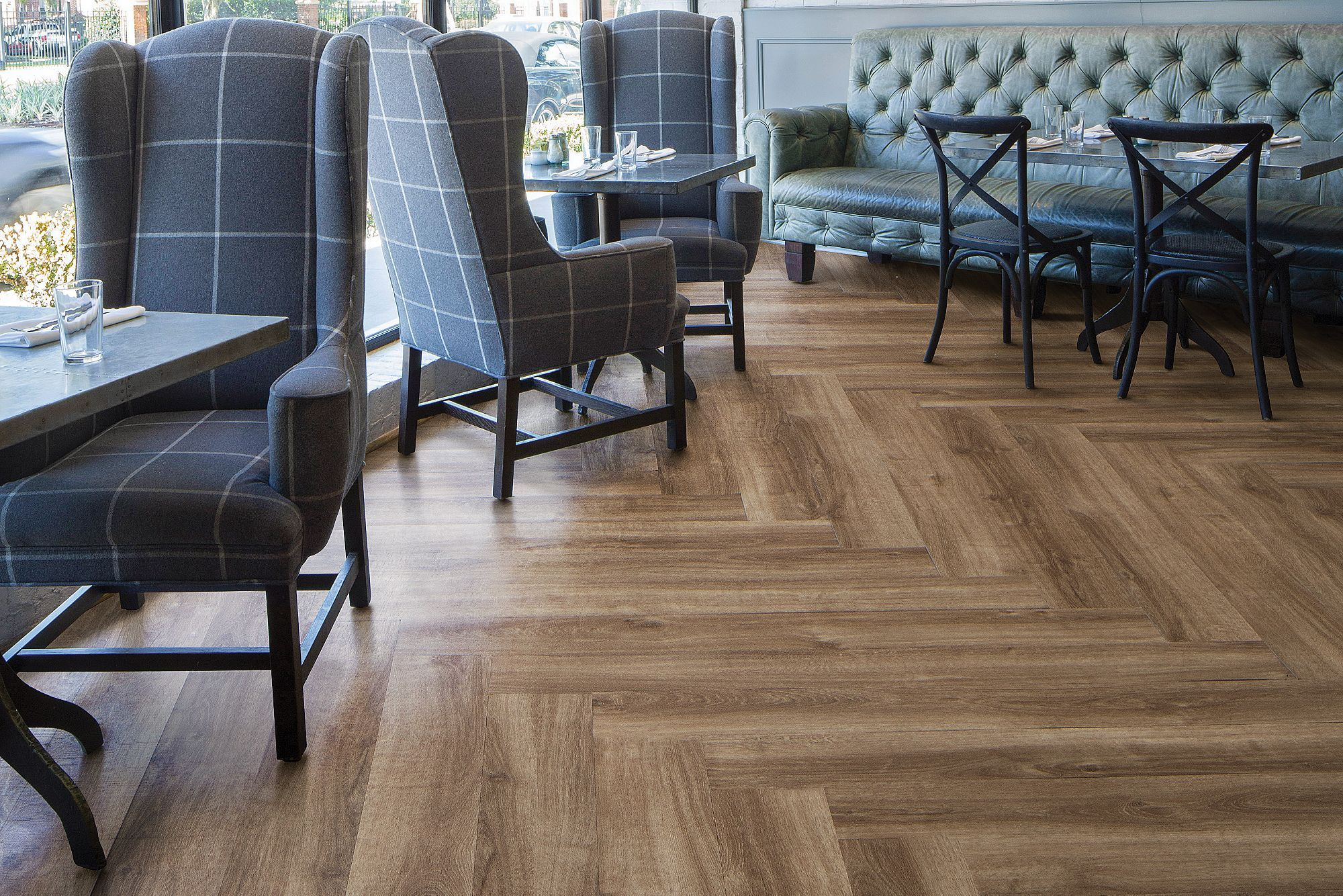Herringbone Install (With images) Luxury vinyl flooring