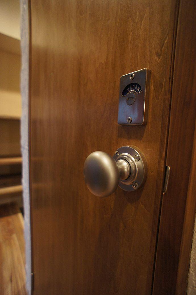 ノブ 取っ手 東京のリノベーション会社 空間社の事例 リノベーション リノベーション ドアノブ 室内ドア